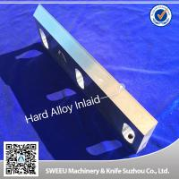 China Heat Treatment Plastic Granulator Blades And Knife +-50 Micron Precision wholesale
