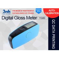China YG60 Accurate Digital Gloss Meter USB Interface For Protective / Marine Coatings wholesale