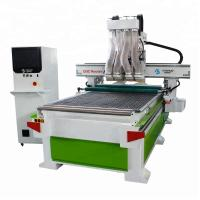 China Aoshuo 1325 CNC 3D Router Machine / Automated Wood Carving Machine 18KW wholesale