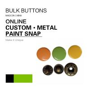 China Barrel Rack & Spray Paint DTM Fabric Clothing Colour 4 - Parts Bulk Snap Brass Button on sale