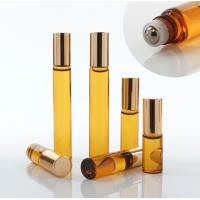 China Glass Empty Roller Bottles For Essential Oils , 10ml 30ml Roll On Deodorant Bottles on sale