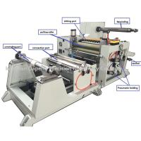 Quality adhesive rubber tape slitting rewinding machine for sale