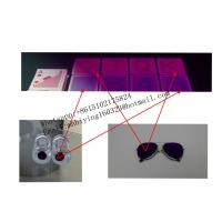 Buy cheap Copag 4 corner jumbo index poker size red marked cards for contact lenses/invisible ink/gamble cheat/omaha texas cheat from wholesalers