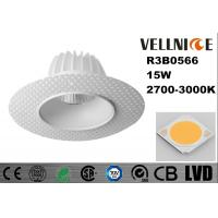 Buy cheap 15w Dia 141 * 72 mm LED Recessed Downlight Cut Out 88mm 2700k 36 Deg Good Anti glare IP20 from wholesalers