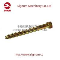 China Zinc Plated Railway Screw Spike Professional Fasteners Supplier wholesale