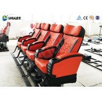 China 6 / 9 / 12 Seats 4D Cinema Equipment  , 4D Mobile Cinema high finesse wholesale
