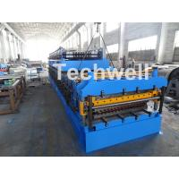 China IBR / Corrugated Sheets Dual Level Cold Roll Forming Machine With 5 Ton Manual Uncoiler wholesale