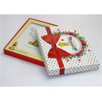 China Glossy Lamination Baby Paper Gift Box First Year Memory Book Packaging Box wholesale