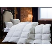 China King Size Goose Feather Duck Down Quilt Duvet , Goose Feather And Down Quilt wholesale