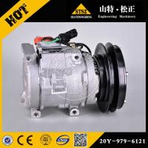 China Komatsu wheel loader spare parts, Komatsu WA500-3 air compressor 425-S62-3321 in stock wholesale