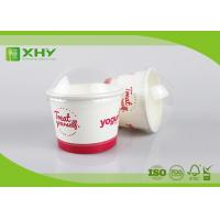 China 500ml 16oz Disposable FDA Certificated Frozen Yogurt Cups with Dome Lids wholesale