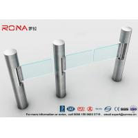 China Intelligent Automatic Swing Barrier Gate With Aluminum Alloy Mechanism with people counting systems wholesale