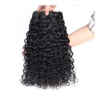 China 20 Inches Water Wave Long Hair / Virgin Cambodian Hair Extensions Double Weft wholesale