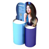 China Supermarket Hand Cream Cardboard Display Racks Durable Spot UV Printing wholesale