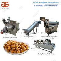 China Chickpeas Processing Machine|Chickpeas Machine Line Equipment|Frying Green Peas Line on sale