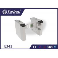 China Electric Lock Baffle Turnstyle Automatic Gates 304 Stainless Steel Material wholesale