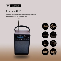 China World Band Portable Digital Radio Player Gospell DRM Receiver wholesale