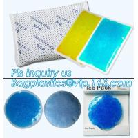Cold Compression Biohazard Waste Disposal Bags Reusable Injection Ice Pack