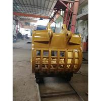 China Skeleton Excavator Bucket , Custom Excavator Buckets For For Sifting Out Rocks on sale