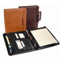 China Leather Business Supplies Hot Sales Variety Padfolio on sale