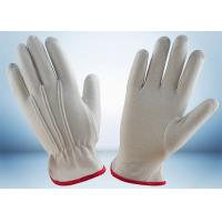 China Industrial Cotton Work Gloves Width 8.8cm - 10.6cm With One Elastic Line wholesale