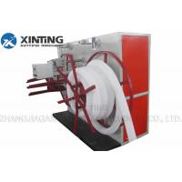 China Automatic Wire Corrugated Pipe Production Line , Hdpe Pipe Winding Machine on sale