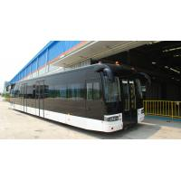 Quality Full aluminum body airport apron bus with 110 passengers capacity and 14 seats for sale