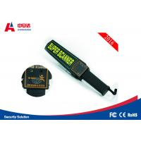 China Audible Alarm Police Scanner Handheld 56.5 * 46 * 32cm With 6F22ND 9V Battery wholesale