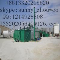 China ZSA-3 vacuum distillation to base oil,car engine oil recovery machine wholesale