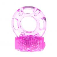 Quality Glans Sex Toys Reusable O Ring Vibrator For Male Delay Ejaculation In Transparen for sale