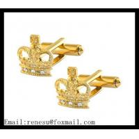 China 2014 Men's High  Elegant Golden Accessories Cufflinks wholesale