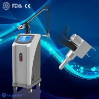 China Scar Removal 10600nm Co2 Fractional Laser Machine With Metal Laser Pipe wholesale