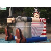 China Fire Retardant Toddler Inflatable Bouncing Castle Of Pirate Jack Theme wholesale