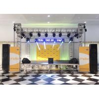 China Indoor Small Concert Stage Truss , Aluminum Truss Stage Light Frame SGS Approved wholesale
