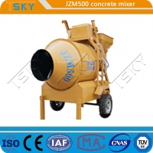 China Construction Sites JZM 500 20m3/H Industrial Concrete Mixer wholesale