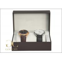 China 2 Piece Plastic Watch Presentation Box / Cardboard Gift Boxes And Packaging For Women on sale