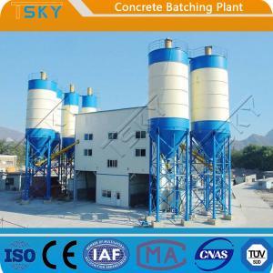 China Hydraulic Rod Discharge HZS60 Concrete Batch Mix Plant wholesale