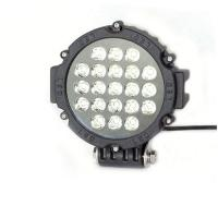 China 63W 7 Inch Led Driving Lights For Cars Flood /Spot Black Red Yellow Driving Led Work Lights wholesale