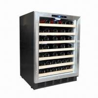 China 54 Bottles Capacity Single Zone Wine Cellar (Built-in or Free-standing) wholesale