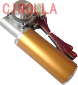 China Round Sliding Glass Electric Door Motor / Door Lock Actuator Motor CE CCC SGS wholesale