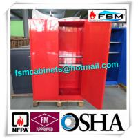 Quality Chemical Combustible Storage Cabinets , Industrial Safety Cabinets For Dangerous Goods for sale