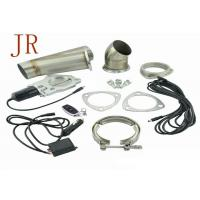 China 3 Inch Sliver Valve Controlled Exhaust Systems Exhaust Cutout Kit Easy Operation wholesale