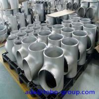 China 1 - 72 inch Stainless Steel Pipe fittings Tee for Petroleum WP310S wholesale
