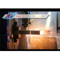 Buy cheap High Efficiency Stable Pipe Laser Cutting Machine For Stainless Steel Material from wholesalers