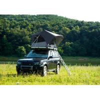 China Outdoor Adventure Car Roof Camper Tent , 2 Person Aluminium Roof Top Tent wholesale