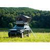China Outdoor Adventure Car Roof Camper Tent , 2 Person Aluminium Roof Top Tent wholesale