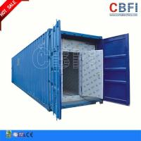 China Refrigeration 20 Ft 40ft Container Cold Room / Freezer Shipping Containers For Fish Meat Storage wholesale
