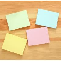 China custom color paper sticky note mome pad notepad any size any shape wholesale