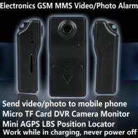 Quality Electronic GSM MMS Alarm Micro TF DVR Camera Locator W/ Send Video Photo to for sale
