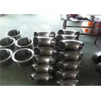 China SCH40 Stainless Steel Pipe Fittings Ss 304 Elbow High Precision Corrosion Resistance wholesale